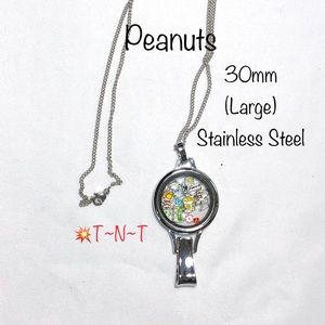 Peanuts Themed Stainless Lanyard Locket